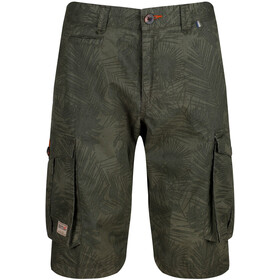 Regatta Shorebay Shortsit Miehet, grape leaf camo print
